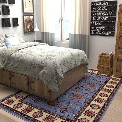 Fairmount Blue Area Rug Rug Size: 5 x 8