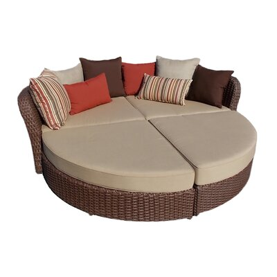 Broadbent Chaise Lounge with Cushion