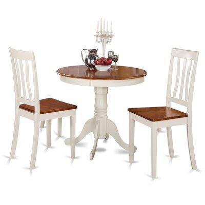 Appleridge Antique 3 Piece Dining Set