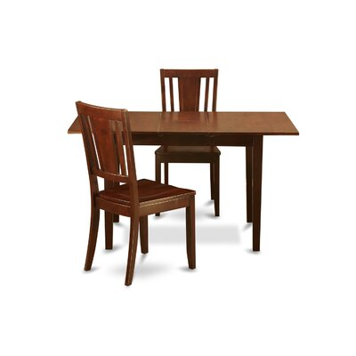 Phoenixville 3 Piece Dining Set Chair Upholstery: Non-Upholstered Wood