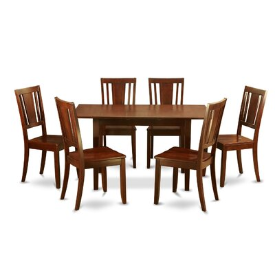 Phoenixville 7 Piece Dining Set Chair Upholstery: Non-Upholstered Wood