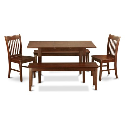 Phoenixville 5 Piece Dining Set Chair Upholstery: Non-Upholstered Wood