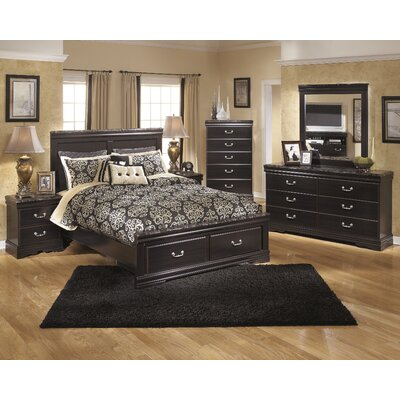 Woodfield Queen Panel Configurable Bedroom Set