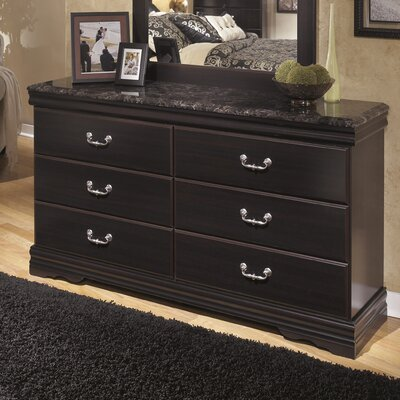 Woodfield 6 Drawer Double Dresser