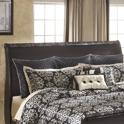Woodfield Sleigh Headboard Size: King
