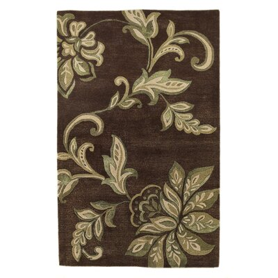 Millersville Mocha Area Rug Rug Size: Rectangle 8 x 10