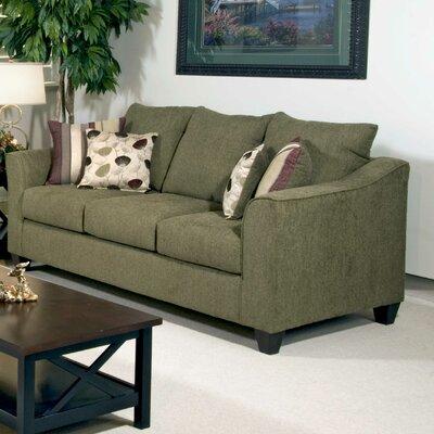 Serta Upholstery Oppenheim Sofa Upholstery: Flyer Green