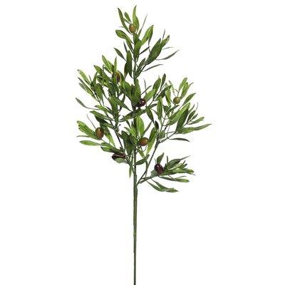 Artificial Olive Leaf Spray Foliage Plant