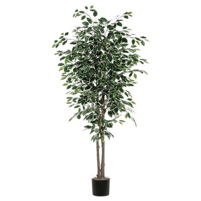 Artificial Variegated Deluxe Foliage Tree in Pot