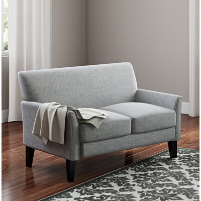 Minisink Loveseat Upholstery: Gray