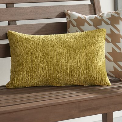 Providence Indoor/Outdoor Throw Pillow Color: Sunshine Yellow