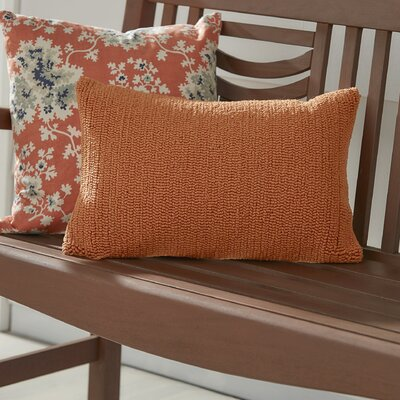 Providence Indoor/Outdoor Throw Pillow Color: Tropical Orange