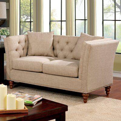 Bolingbrook Chesterfield Loveseat