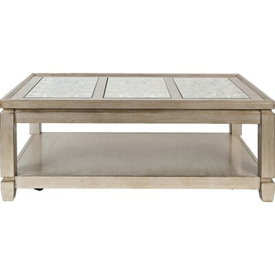 Stillwater Coffee Table Color: Silver