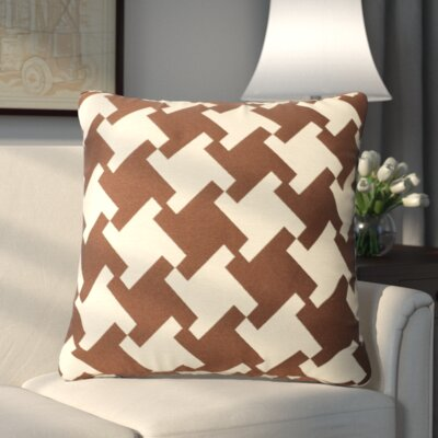 Foster Throw Pillow Color: Rain Drum