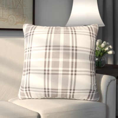 Stanley Pillowcase Color: Grey Cream