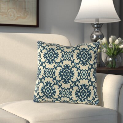 Medallion Throw Pillow Color: Medallion Riptide