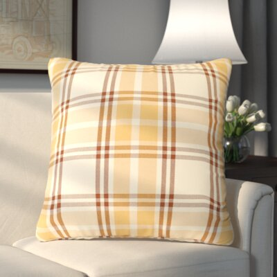 Stanley Throw Pillow Color: Gold Cream
