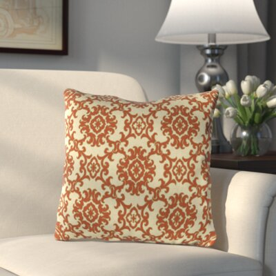 Medallion Throw Pillow Color: Medallion Toffee