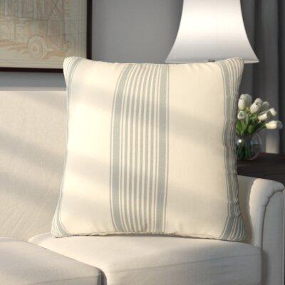 Newport Throw Pillow Color: Light Blue