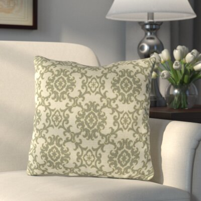 Medallion Throw Pillow Color: Medallion Stone