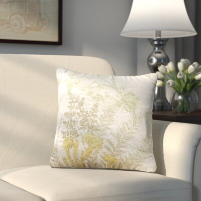 Yorktown Quilted Decorative Cotton Throw Pillow