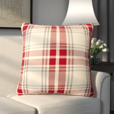 Stanley Pillowcase Color: Red Cream