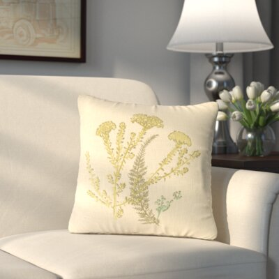 Yorktown I Linen Throw Pillow