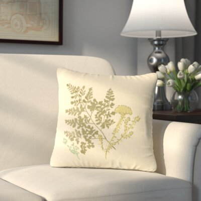 Yorktown II Linen Throw Pillow