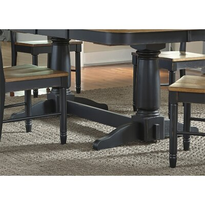 Franca Double Pedestal Table Base