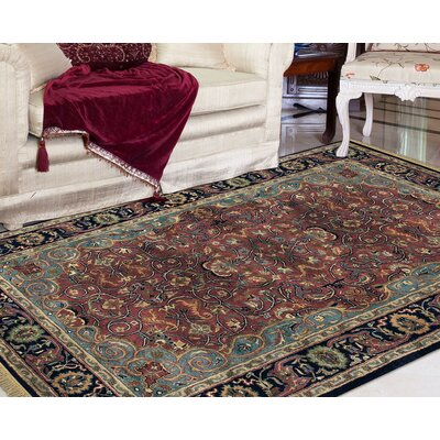 Defranco Hand-Tufted Blue Area Rug Rug Size: Rectangle 9'6