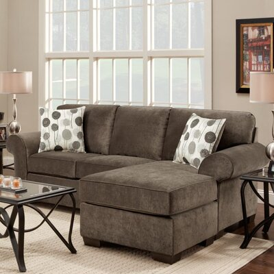 Radcliff Reversible Sectional Upholstery: Elizabeth Ash