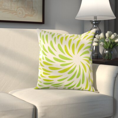 Clarion Pillow Cover Size: 18 H x 18 W x 1 D, Color: Green