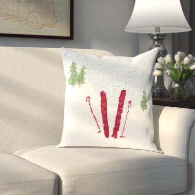 Broadcommon Winter Pillow Cover