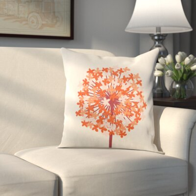 Pottsville Pillow Cover Size: 20 H x 20 W x 1 D, Color: Red/Orange
