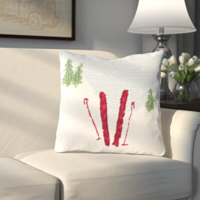 Broadcommon Winter Throw Pillow
