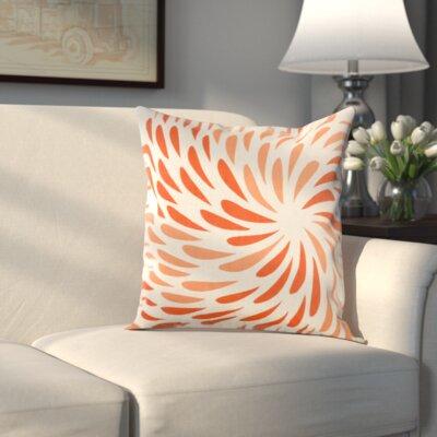 Clarion Pillow Cover Color: Orange, Size: 22 H x 22 W x 1 D