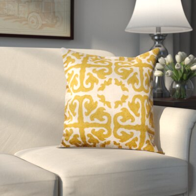 Helene Cotton Throw Pillow Size: 18