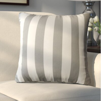 Edenburg Stripes Cotton Throw Pillow
