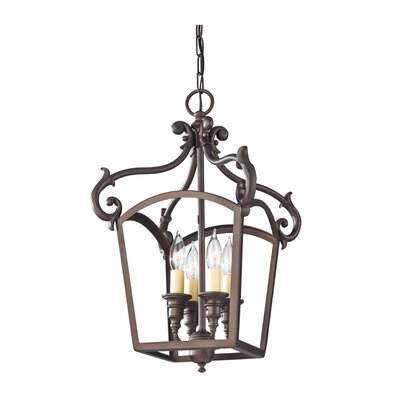Francis 4-Light Mini Chandelier