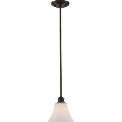 Stoneybrook 1-Light LED Mini Pendant Base Finish: Aged Bronze