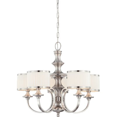 Harwinton 5-Light Drum Chandelier