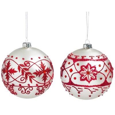 2-Piece Nordic Ornament Set