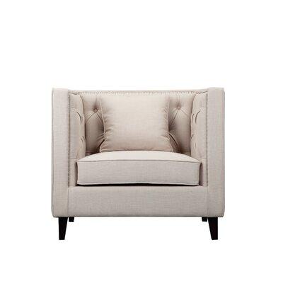 Isolde Armchair Upholstery: Beige