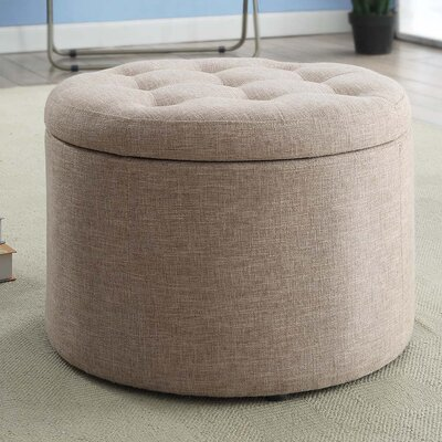 Stansell Round Shoe Ottoman