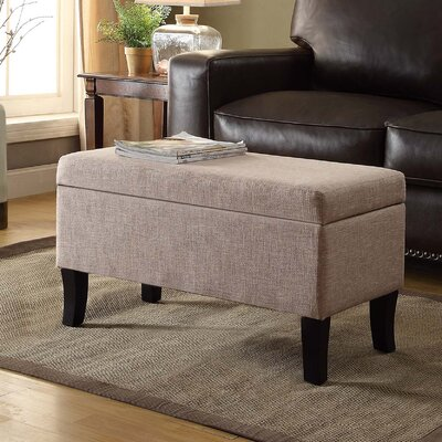 Cohee Storage Ottoman Upholstery: Tan