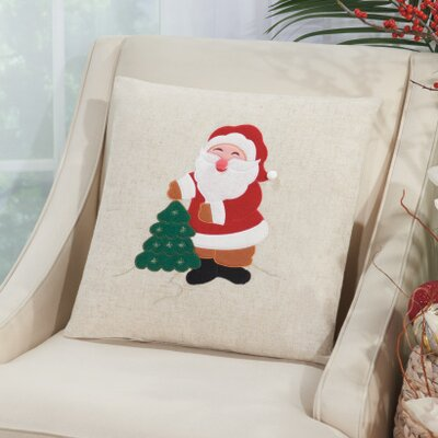 Richfield Santa Throw Pillow