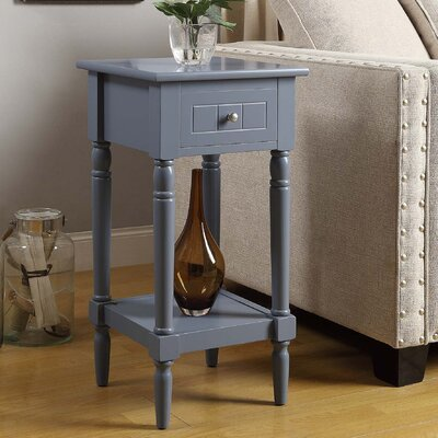 Axtell End Table With Storage� Color: Gray