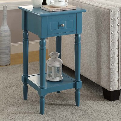 Axtell End Table With Storage� Color: Blue