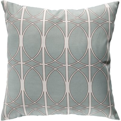 Ballenton Outdoor Pillow Cover Size: 18 H x 18 W x 4 D, Color: Gray